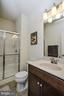 Full Bath on Lower level - 22295 PINECROFT TER, ASHBURN