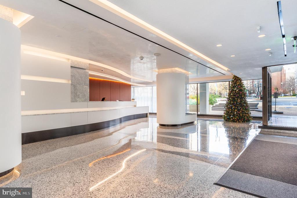 Watergate East - North Lobby - 2510 VIRGINIA AVE NW #903-N, WASHINGTON