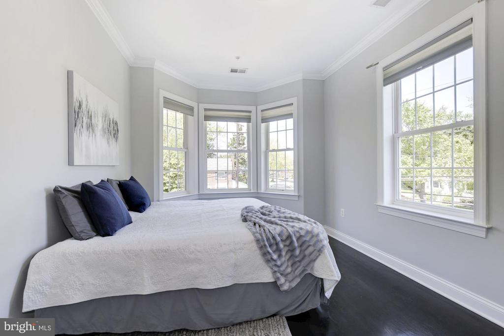 Bedroom #4 big enough for king size bed - 5900 RYLAND DR, BETHESDA