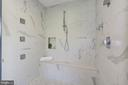 Luxurious shower system - 5900 RYLAND DR, BETHESDA