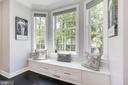 Relax in the lovely window seat - 5900 RYLAND DR, BETHESDA