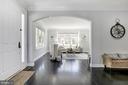 Gorgeous hardwood floors - 5900 RYLAND DR, BETHESDA