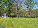 Back Yard - 3290 POMMEL CT, MOUNT AIRY