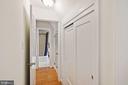 Upstairs hallway & closets - 3030 N QUINCY ST, ARLINGTON