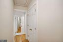 Upstairs hallway and closets - 3030 N QUINCY ST, ARLINGTON