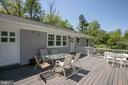 Upper Deck opens from Family room and 3rd Bedroom - 20284 BROAD RUN DR, STERLING