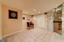Lower Level Game Area - 6507 BURKE WOODS DR, BURKE