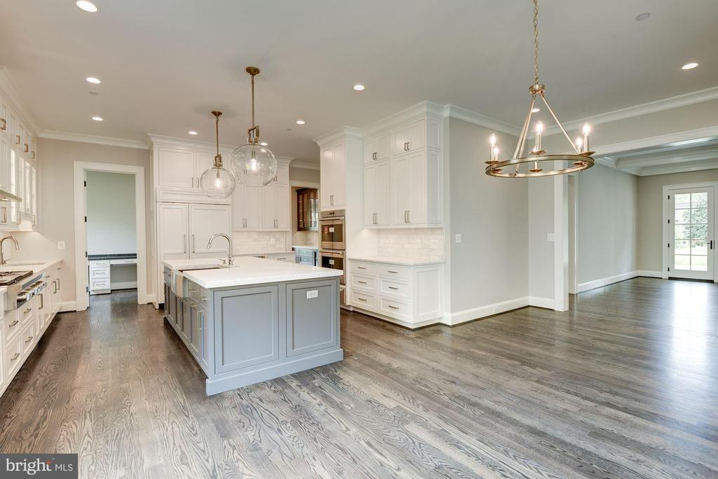 Gourmet Kitchen with Breakfast Dining Area - 3201 WINNETT RD, CHEVY CHASE