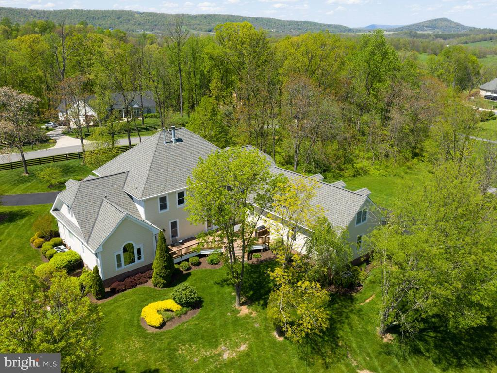 Aerial Rear View - 641 STONYMEADE DR, WINCHESTER