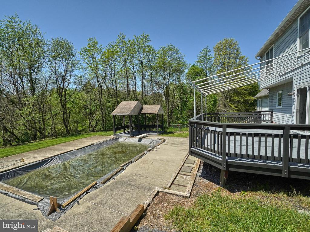 Deck, Pook and Gazebo area - 11667 FAIRMONT PL, IJAMSVILLE
