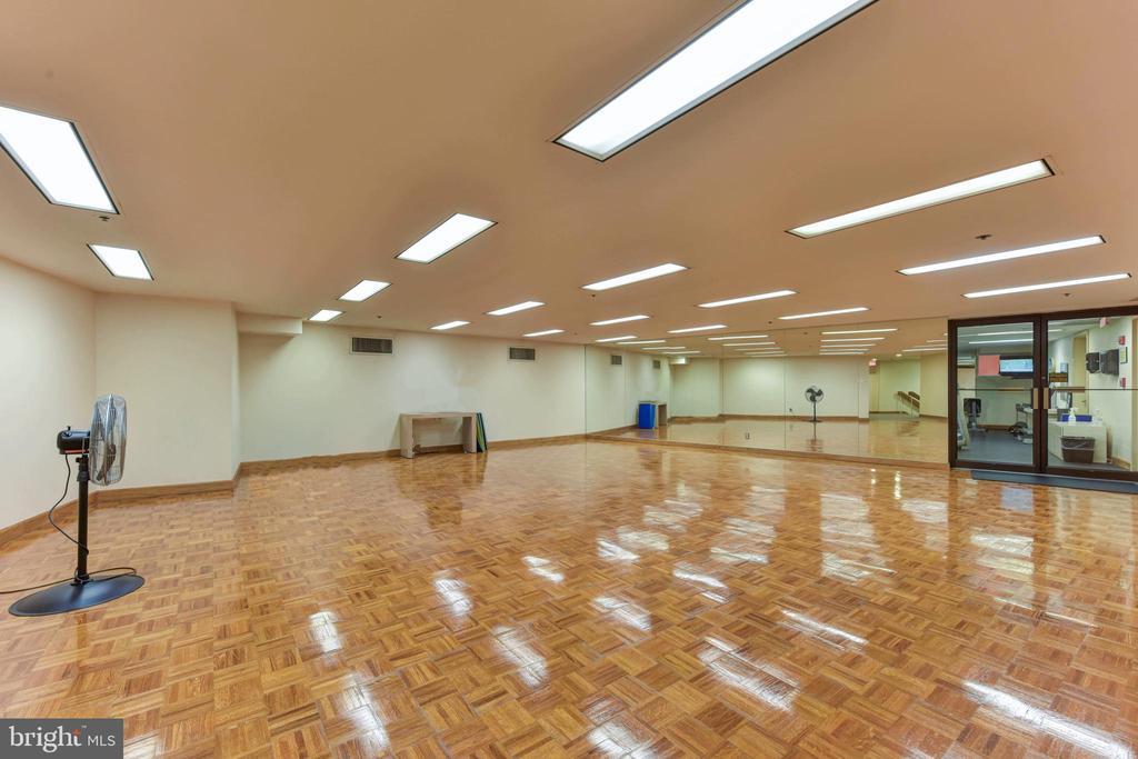 Exercise Room - 1300 CRYSTAL DR #PH14S, ARLINGTON