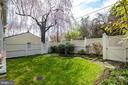 Flat, private and fenced back garden - 3828 GRAMERCY ST NW, WASHINGTON