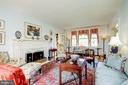 Sunny Living Room - 3828 GRAMERCY ST NW, WASHINGTON