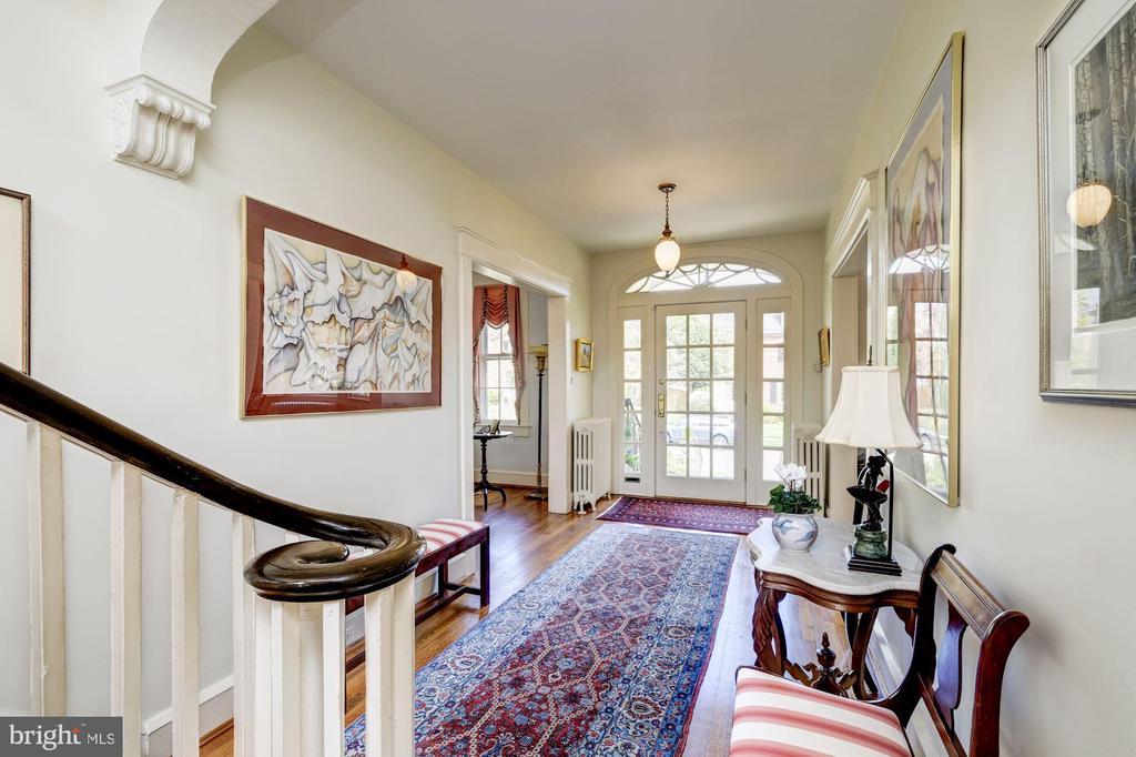 Elegant Entrance Hall - 3828 GRAMERCY ST NW, WASHINGTON