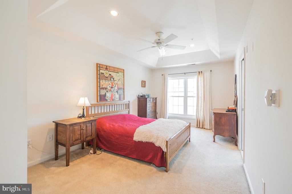 Master Bedroom with Tray Ceiling - 3651 TAVISTOCK RD, FREDERICK