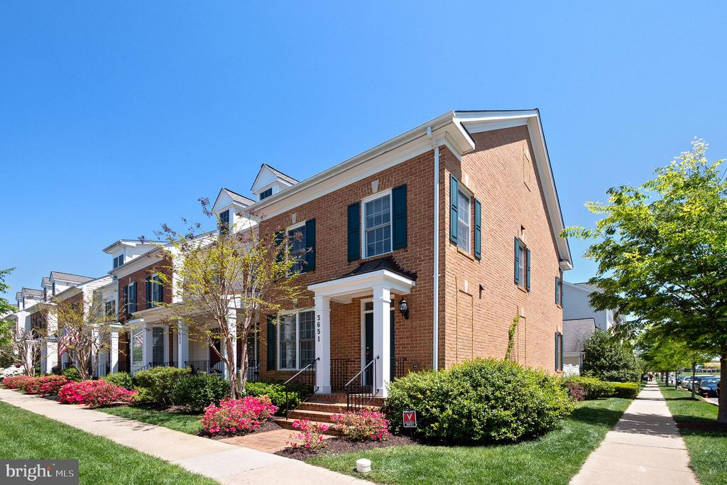 Brick End Unit  Home Built by Main Street Homes - 3651 TAVISTOCK RD, FREDERICK