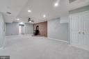 Basement Recreation Room - 646 HOLLY CORNER RD, FREDERICKSBURG
