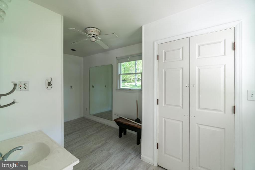 Bathroom inside the Pool House - 646 HOLLY CORNER RD, FREDERICKSBURG