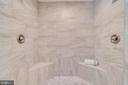 New Master Shower with Dual Shower Heads - 646 HOLLY CORNER RD, FREDERICKSBURG