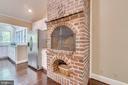 Room to store firewood below. - 646 HOLLY CORNER RD, FREDERICKSBURG