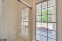 New Sliding Shower Door & Vanity  in Hall Bathroom - 646 HOLLY CORNER RD, FREDERICKSBURG