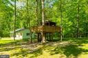Tree House. Previously Fenced for Goats&Chickens - 646 HOLLY CORNER RD, FREDERICKSBURG