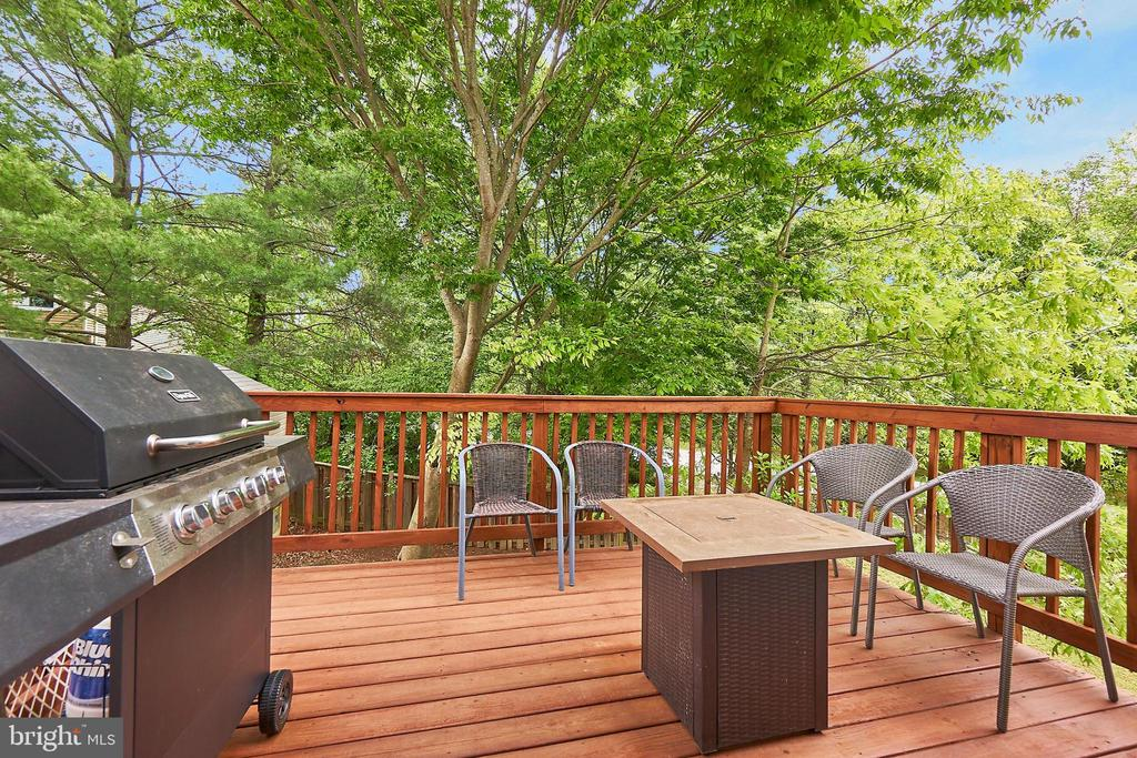 Deck - 8314 ROCKY FORGE CT, SPRINGFIELD