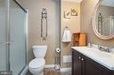 Lower Level Bath - 8314 ROCKY FORGE CT, SPRINGFIELD