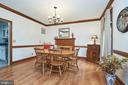 Formal Dining Room - 345 GRIMSLEY RD, FLINT HILL