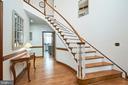 Elegant Foyer - 345 GRIMSLEY RD, FLINT HILL