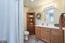 Guest bath - 345 GRIMSLEY RD, FLINT HILL