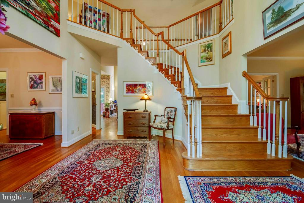 Foyer - Front Entrance of Home! - 12210 GLADE DR, FREDERICKSBURG