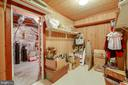 Walk-In Cedar Closet - Basement - Great Storage! - 12210 GLADE DR, FREDERICKSBURG
