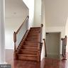 stairs to basement and to second floor - 120 CHARISMATIC COURT, MARTINSBURG