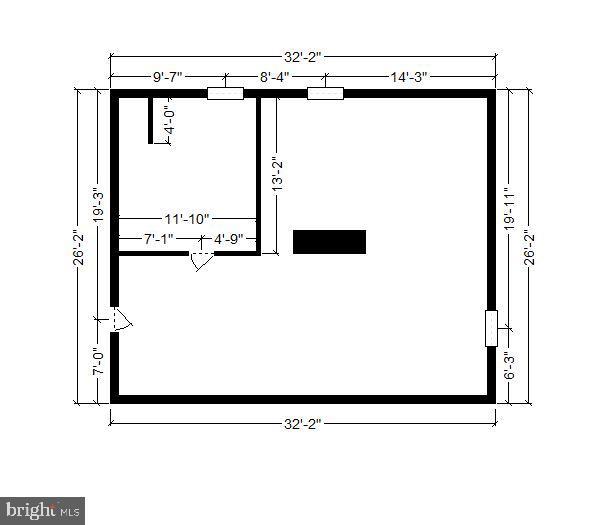 Lower Level 2 Dimensions - 1058 ULMSTEAD CIR, ARNOLD