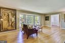 Living Room with Oversized Bay Window - 1058 ULMSTEAD CIR, ARNOLD
