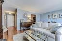 Living Room - 4620 N PARK AVE #1411E, CHEVY CHASE