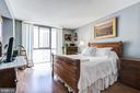 Bedroom - 4620 N PARK AVE #1411E, CHEVY CHASE