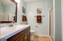 Master Bathroom w/ Stall Shower and Walk-in Closet - 10001 GRASS MARKET CT, FREDERICKSBURG
