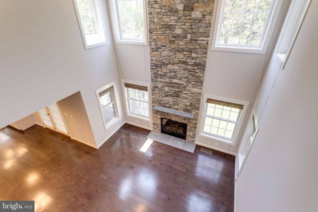 View of Family room shows abundant natural light - 2050 ARCH DR, FALLS CHURCH