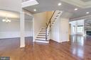 Grand Entrance showing family room - 2050 ARCH DR, FALLS CHURCH