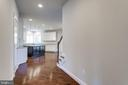 Hallway Leading to Open-Concept Kitchen - 2050 ARCH DR, FALLS CHURCH