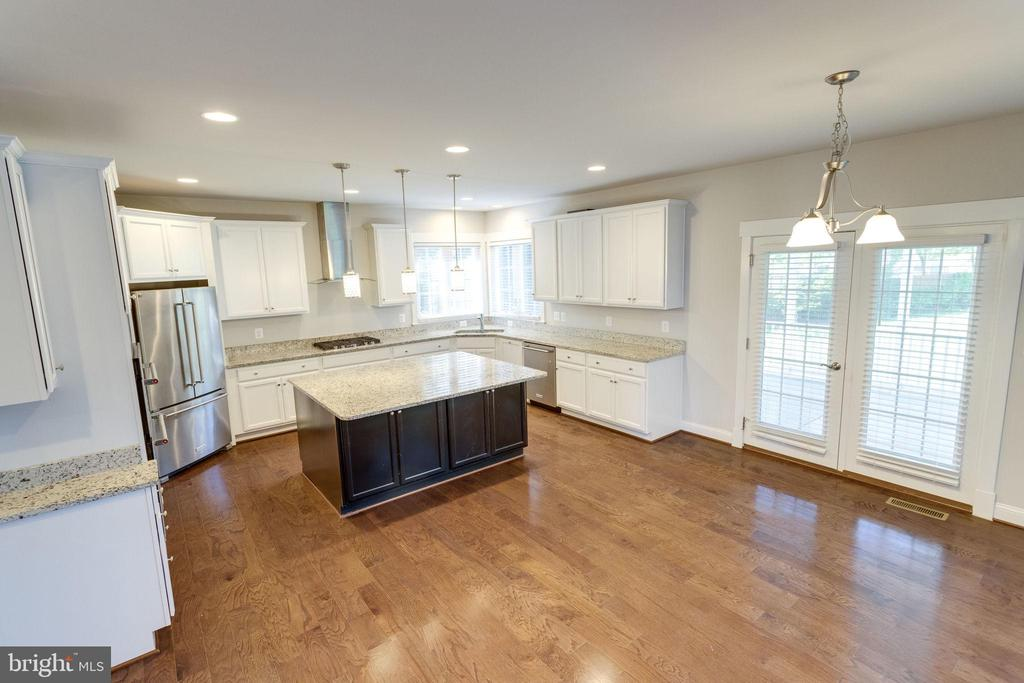 Aerial View of Kitchen - 2050 ARCH DR, FALLS CHURCH