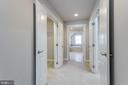 Master Hallway With His/Her's Full Closets - 2050 ARCH DR, FALLS CHURCH