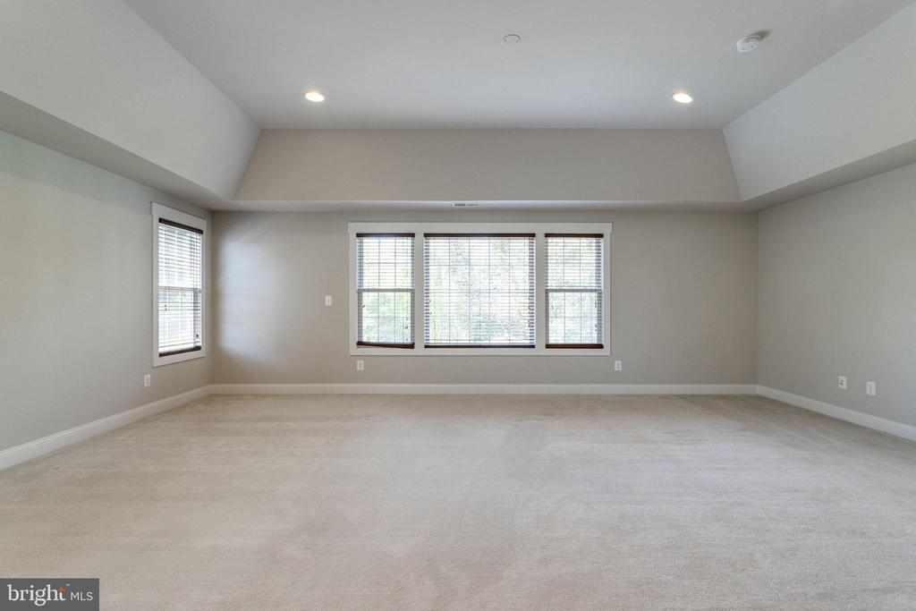 Master Bedroom w/ Extended High ceiling - 2050 ARCH DR, FALLS CHURCH