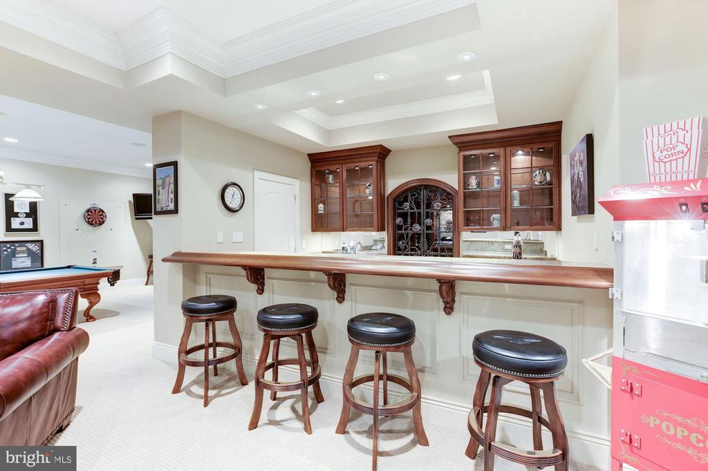 Wet Bar - 8913 GALLANT GREEN DR, MCLEAN