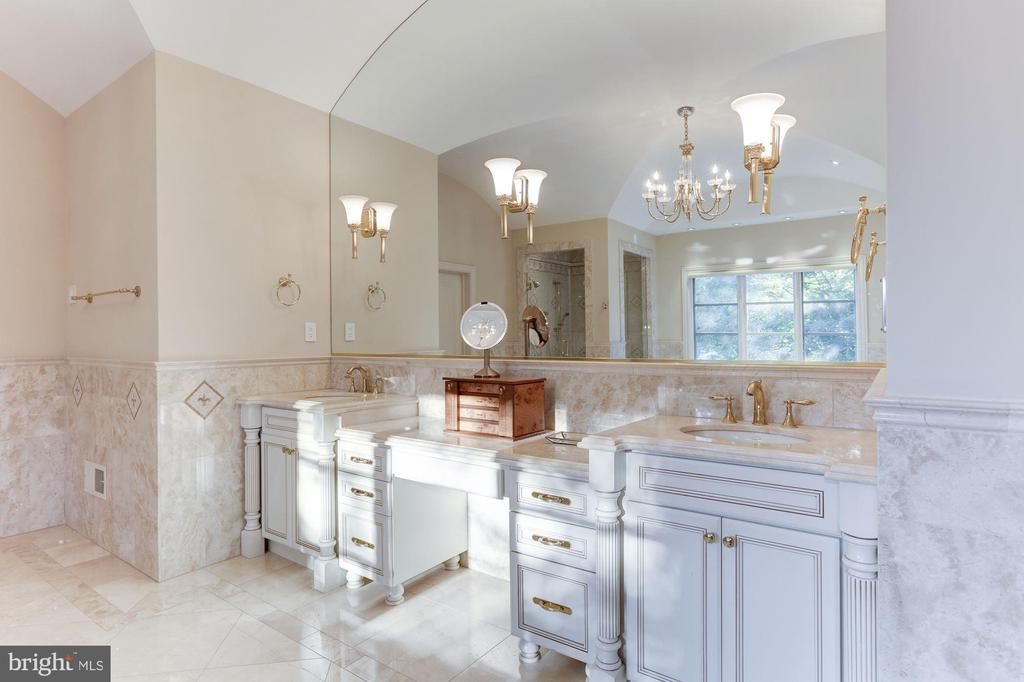 Owner's Bath - 8913 GALLANT GREEN DR, MCLEAN