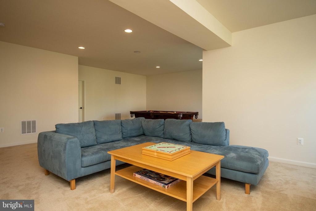Basement Recreation room - 42422 CHAMOIS CT, STERLING