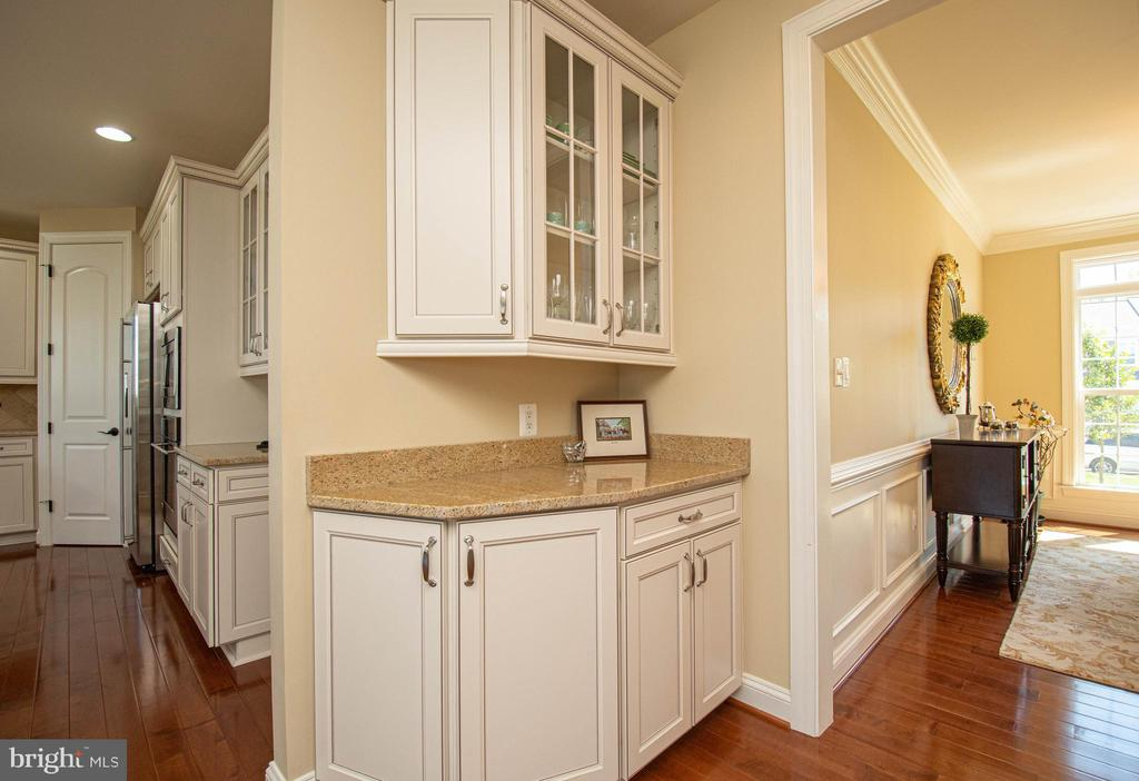 Kitchen - coffee bar - 42422 CHAMOIS CT, STERLING