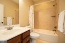 Upstairs hall bathroom #2 - 42422 CHAMOIS CT, STERLING